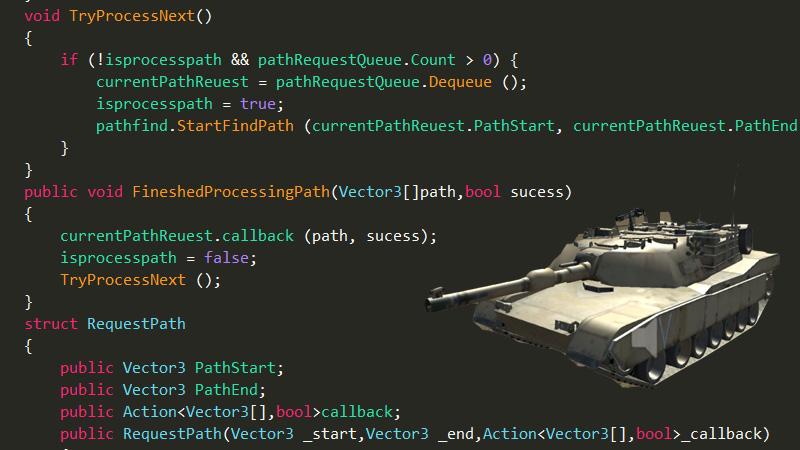 بازی تانک همراه با هوش مصنوعی دشمن